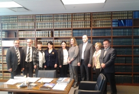 Study visit of members of Disciplinary Committee of Judges of Common Courts of Georgia and High Council of Justice to United States